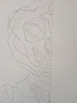 Robot 3 - Illustration Vierneisel