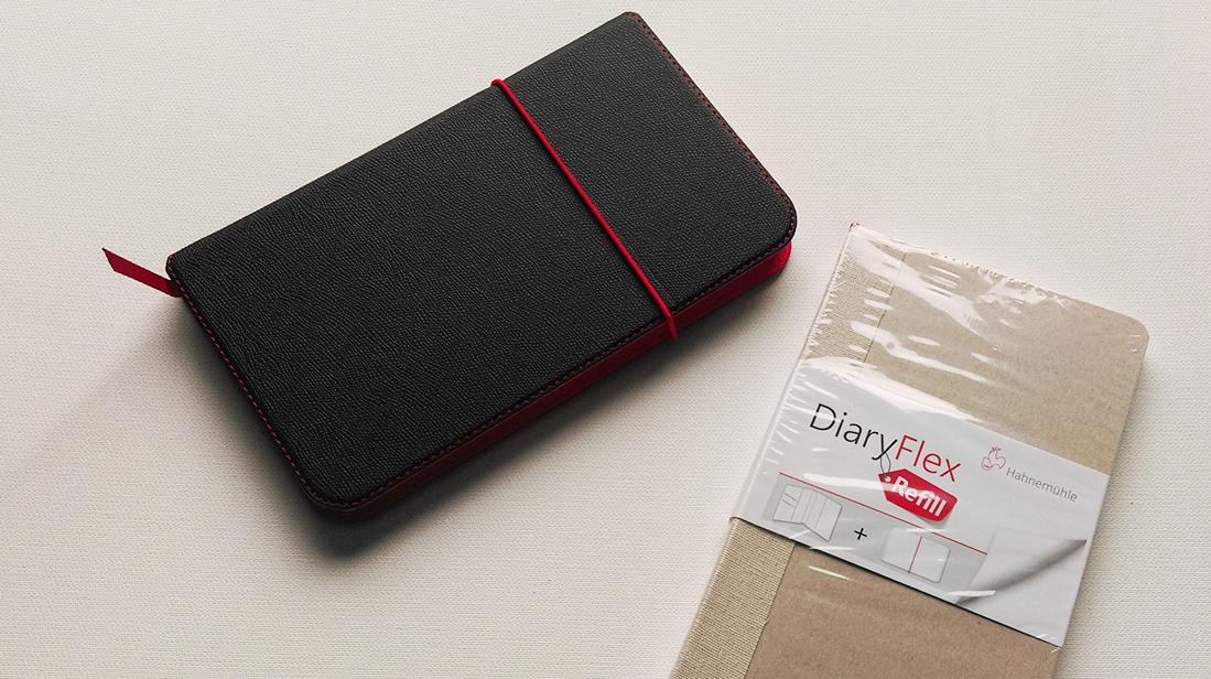 Hahnemuehle DiaryFlex Sketchnotebook farbtunnel