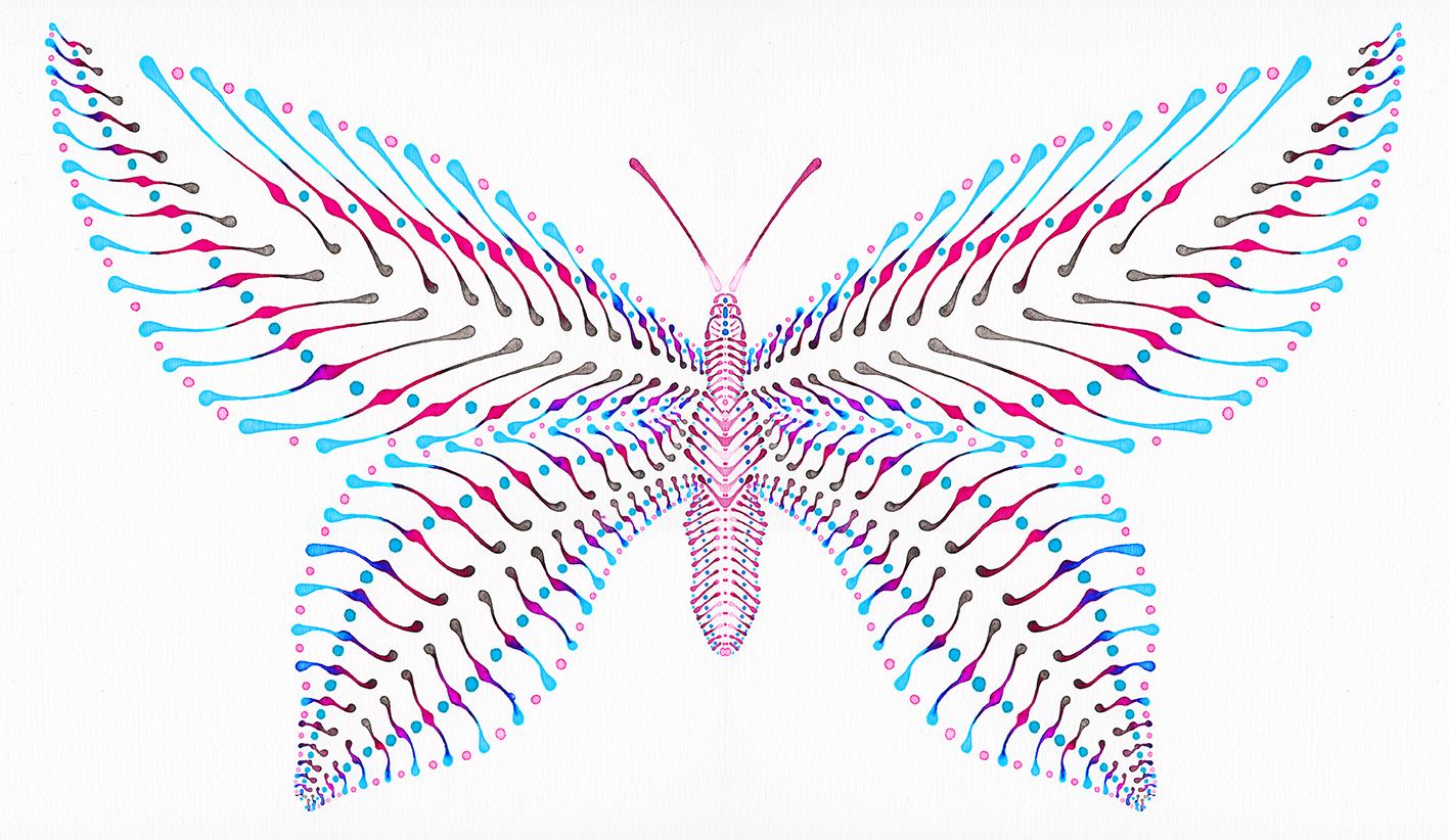 Schmetterling Illustration