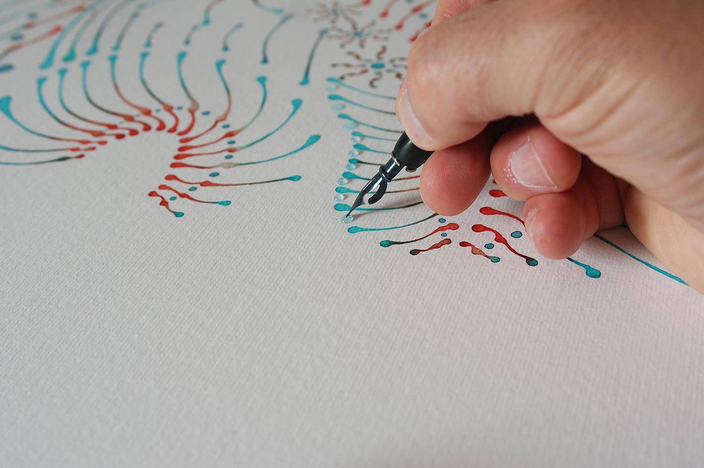 Dotting painting