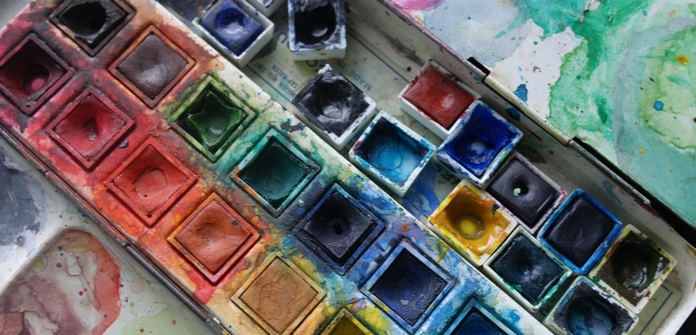 Aquarell Farbe Vierneisel