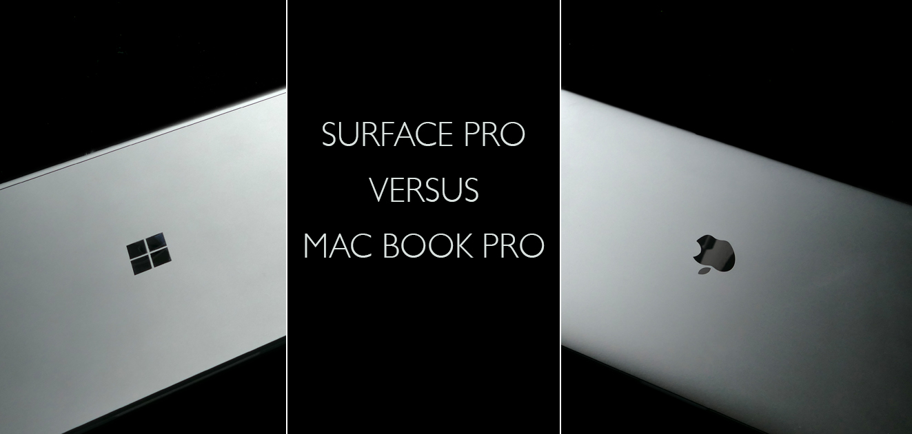 Surface Book oder MacBook PRO