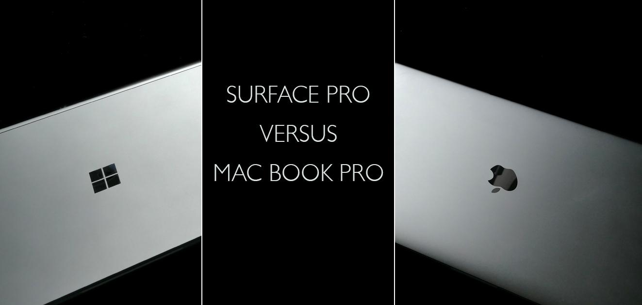 Surface Book oder MacBook PRO