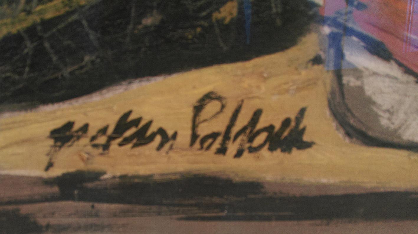 Jackson Pollock Signatur