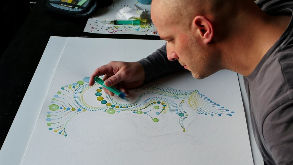 Dotting Artist Tobias Vierneisel