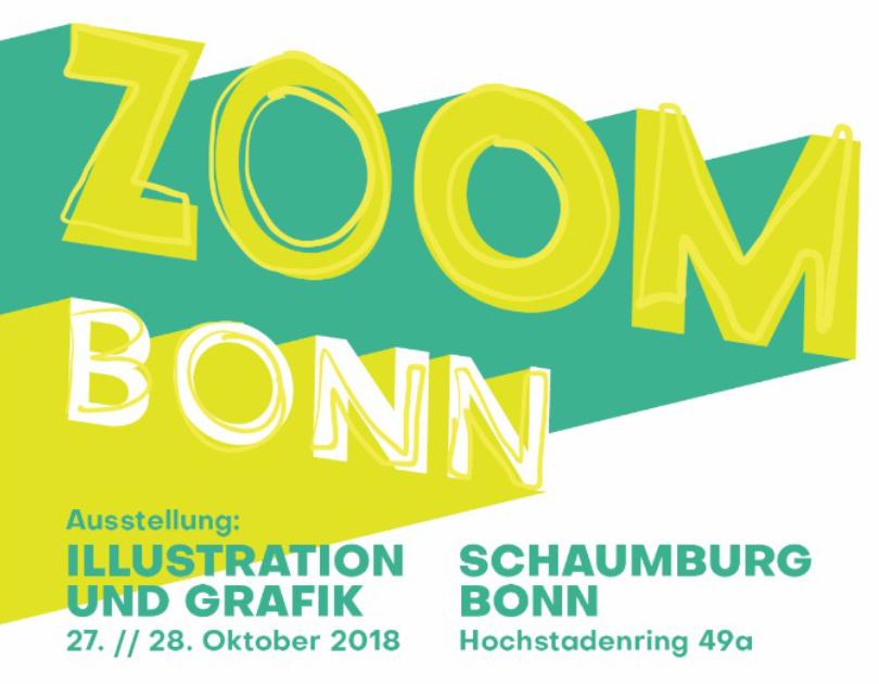 Illustration Ausstellung Bonn