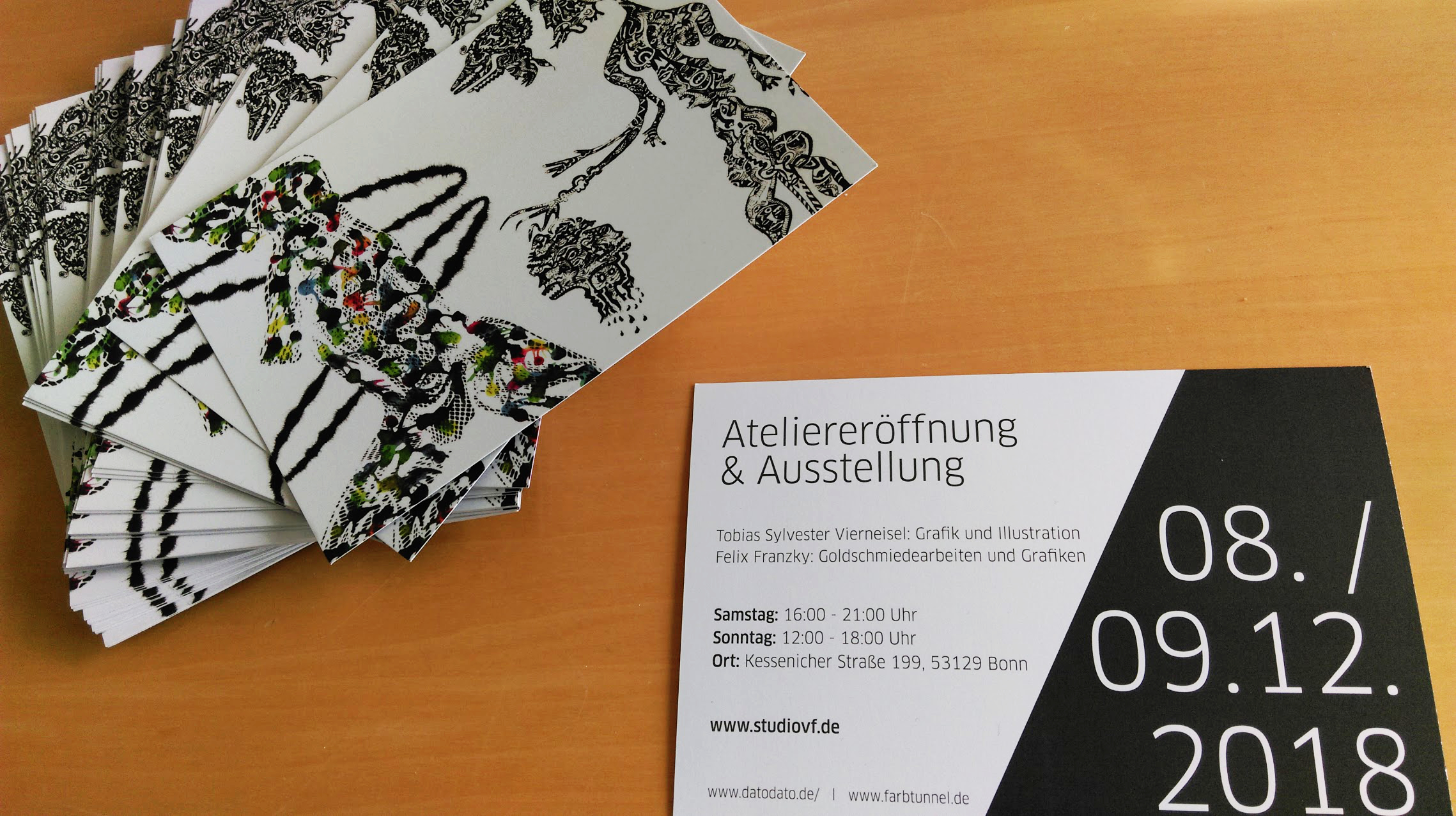 Ateliereröffnung Bonn
