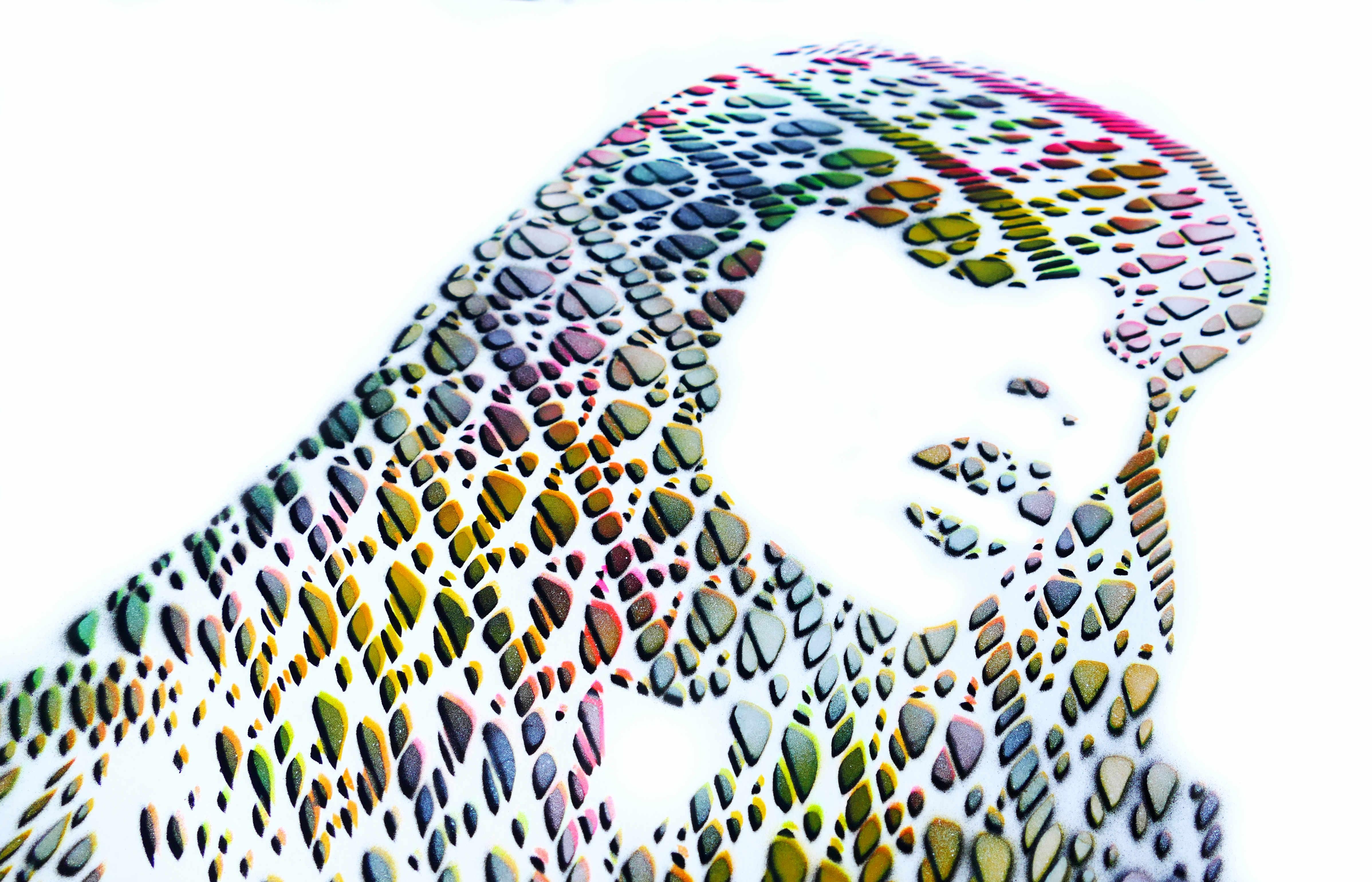 Graffiti Stencil Kunst